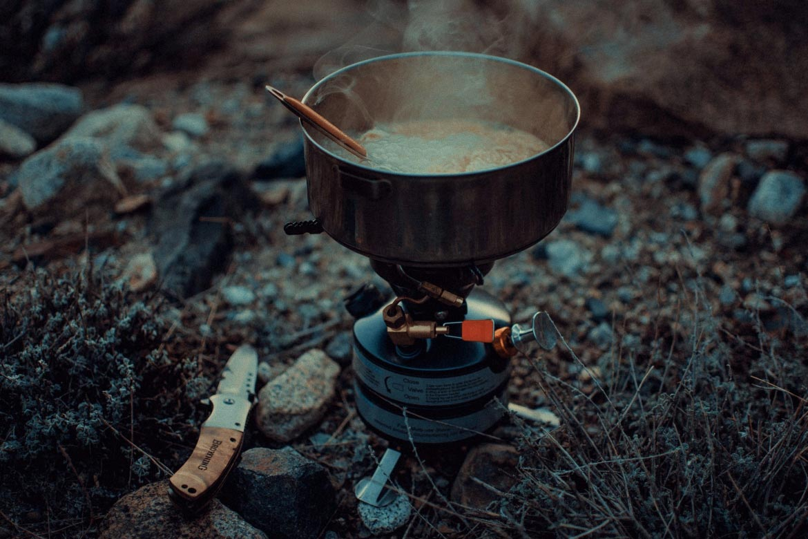 gasoline stove camping